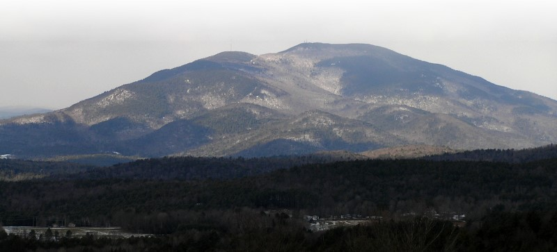 Mt. Ascutney View from New Hampshire by Bacon Graphics